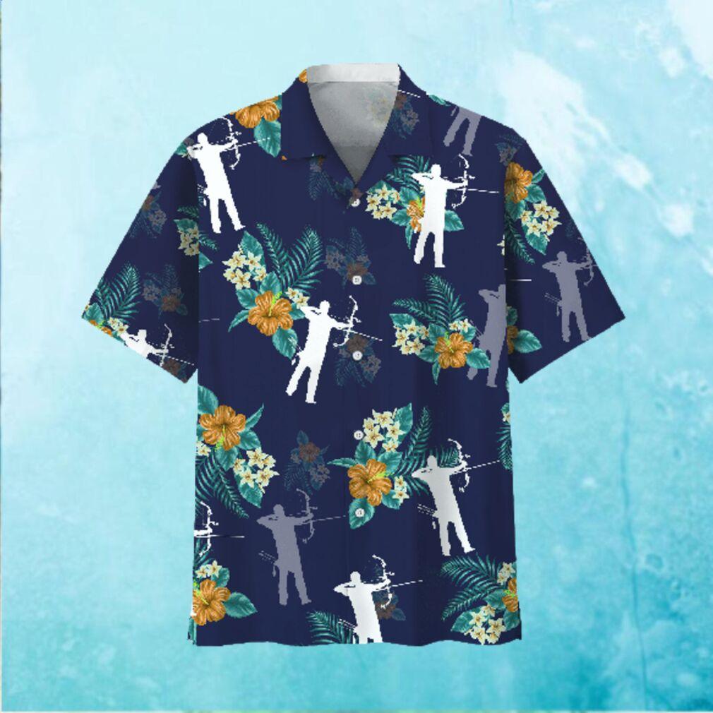 Archery Hawaiian Tropical Hawaiian Shirt