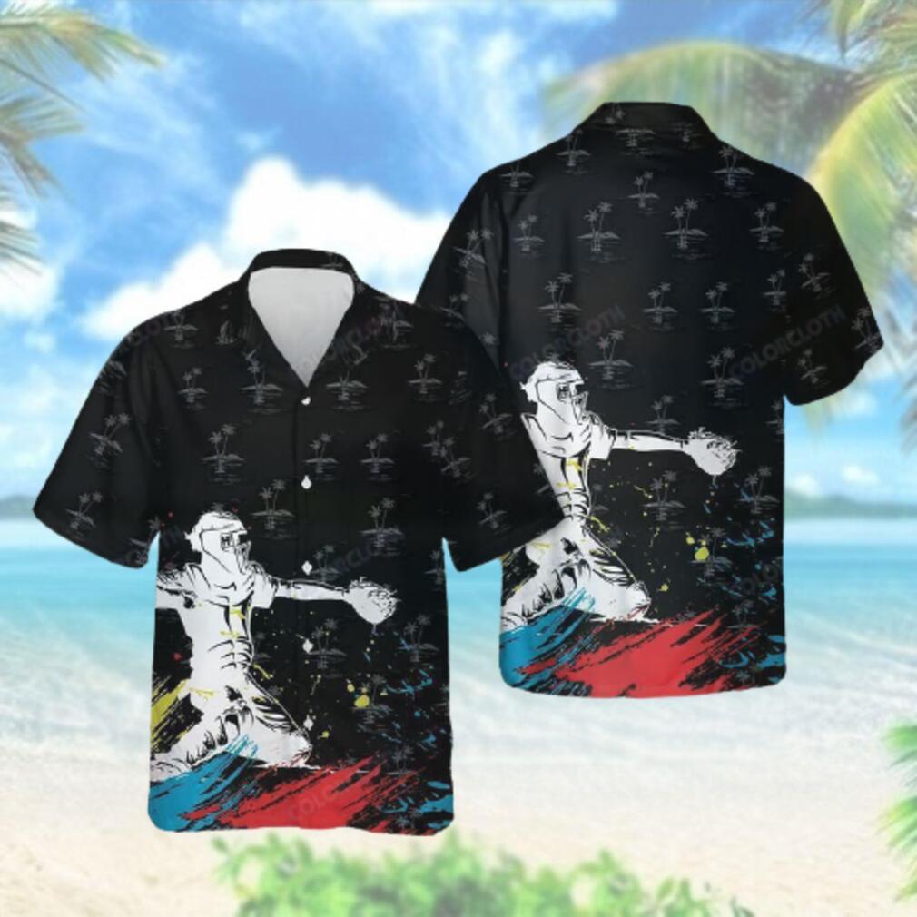Baseball Catcher Hawaiian Hawaiian Shirt