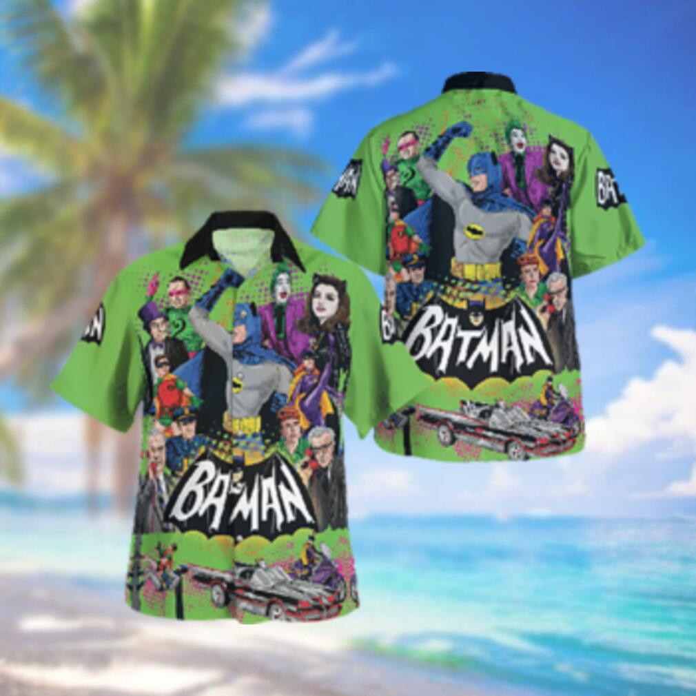 Batman 1966 All Characters Hawaiian Hawaiian Shirt