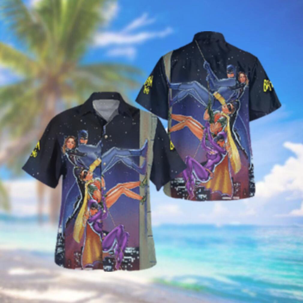 Batman 1966 Heroes Hawaiian Hawaiian Shirt