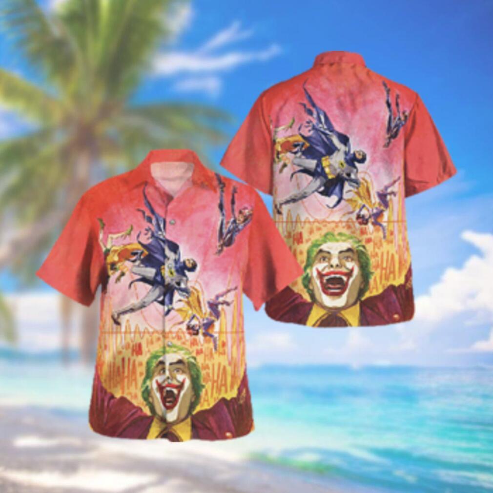 Batman 66 with Joker Hawaiian Hawaiian Shirt