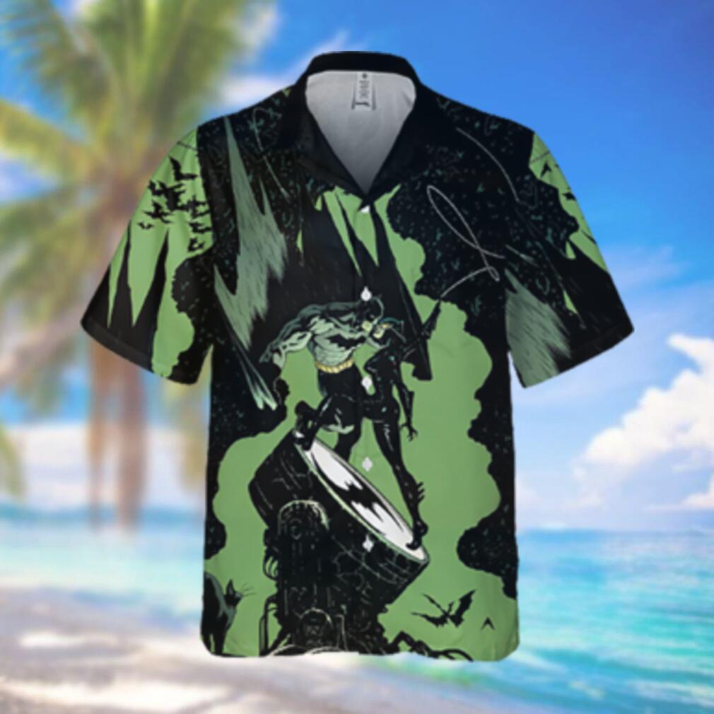 Batman an Catwoman battle Hawaiian Hawaiian Shirt