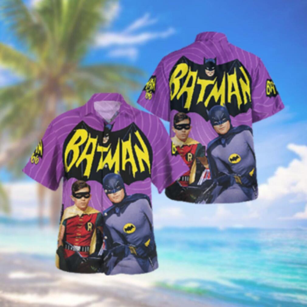 Batman and Robin 66 Hawaiian Hawaiian Shirt