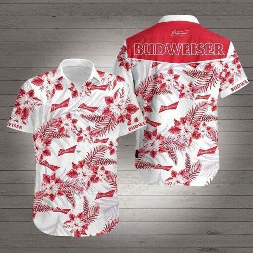 Budweiser Hawaii Hawaiian Shirt Fashion Tourism For Men, Women Shirt