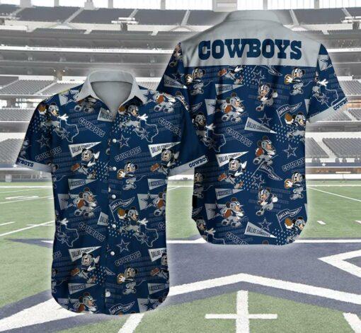 Dallas Cowboys Hawaii Hawaiian Shirt Fashion Tourism For Men, Women Shirts