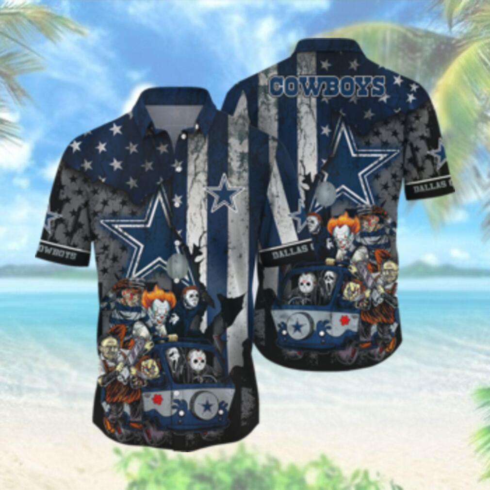 Dallas Cowboys NFL Hawaiian Shirts Style Hot Trending