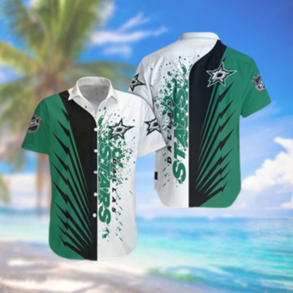 Dallas Stars Limited Edition Button Down Hawaiian Shirt