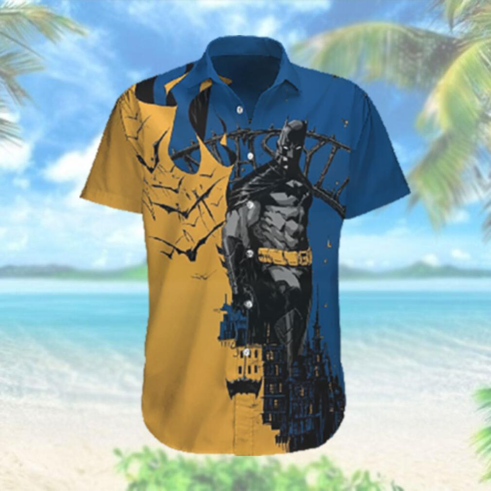 Dark Knight in the City Hawaiian Hawaiian Shirt