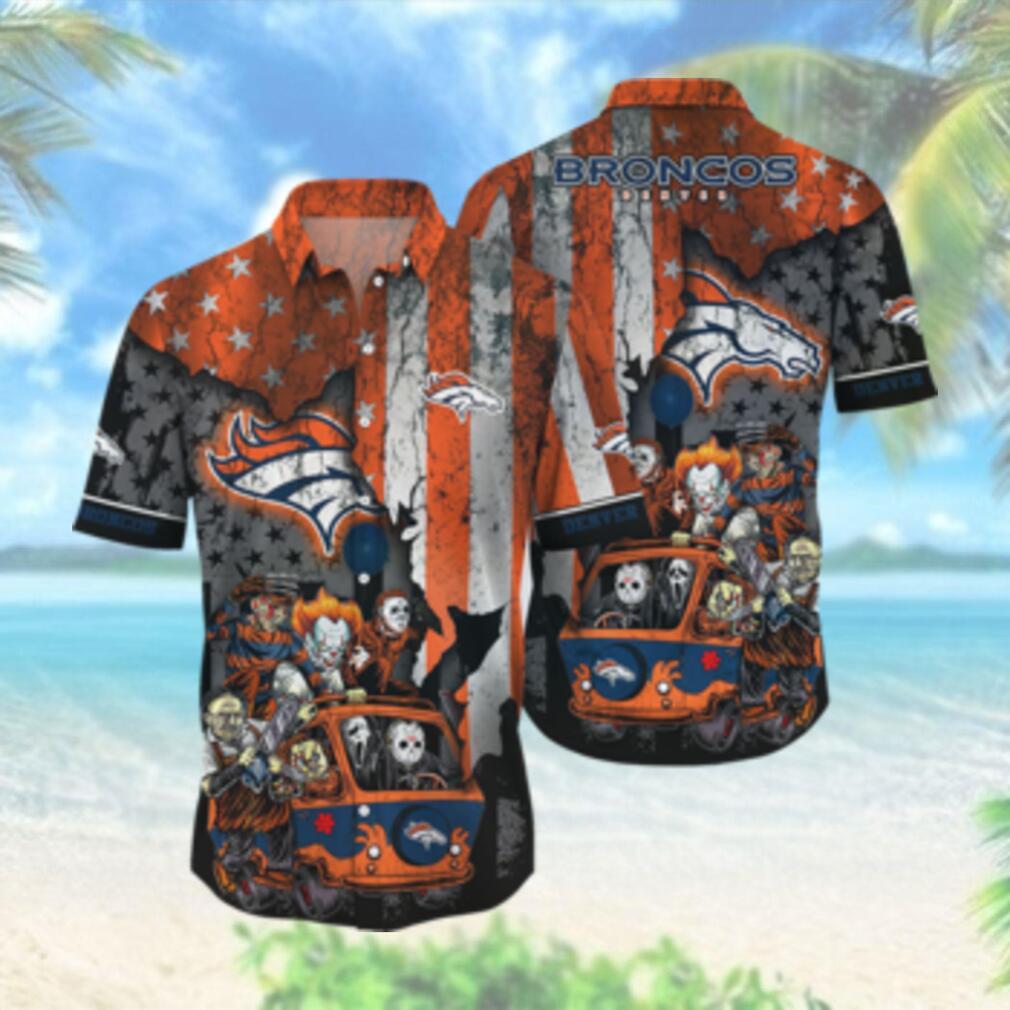 Denver Broncos NFL Hawaiian Shirts Style Hot Trending