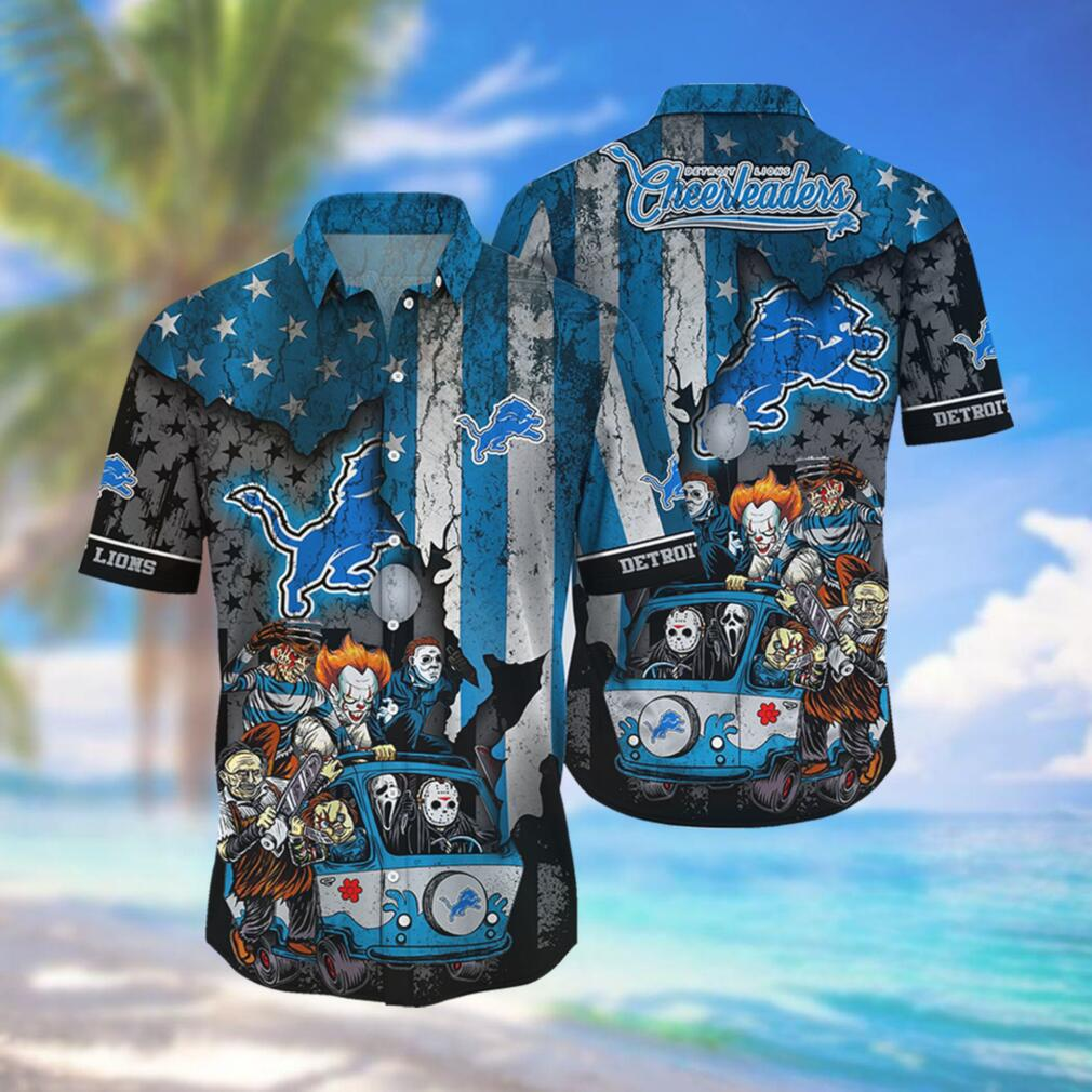 Detroit Lions NFL Hawaiian Shirts Style Hot Trending