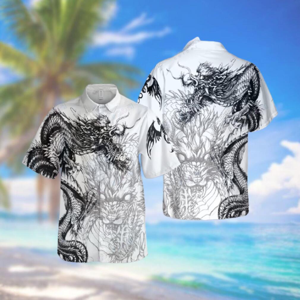 Dragon Tattoo Hawaiian Shirt For Dragon Lovers Hawaiian Shirts