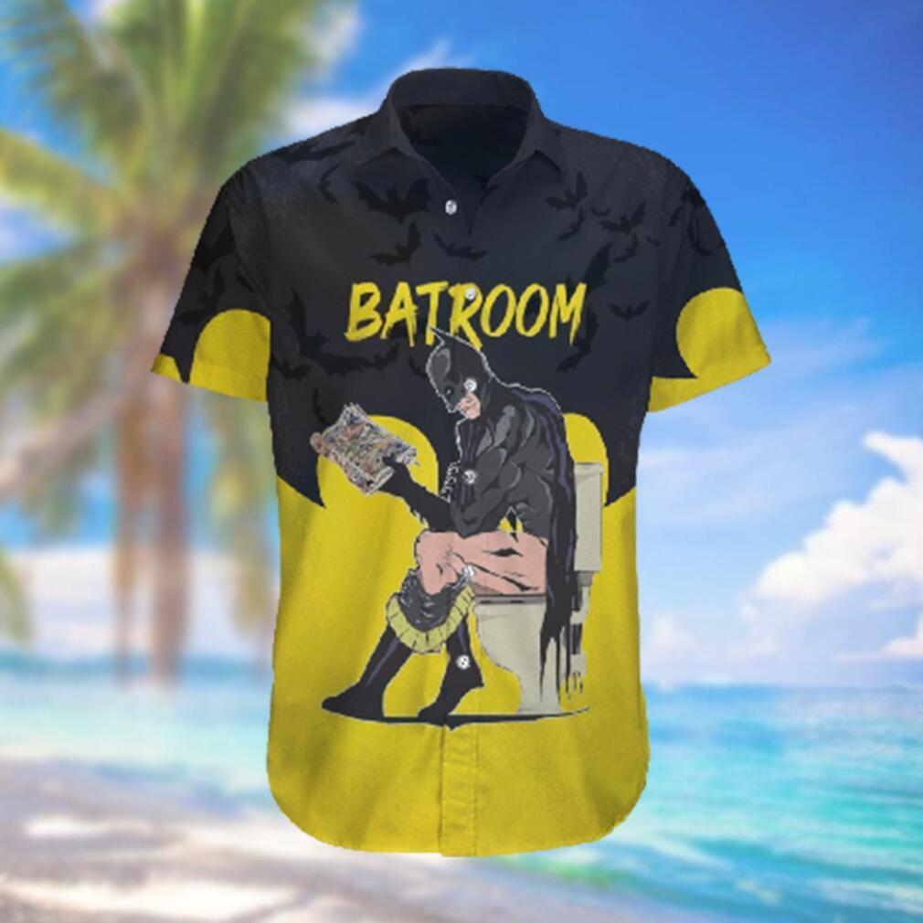 Funny Batman Batroom Hawaiian Shirt Summer Style Hawaiian Shirts