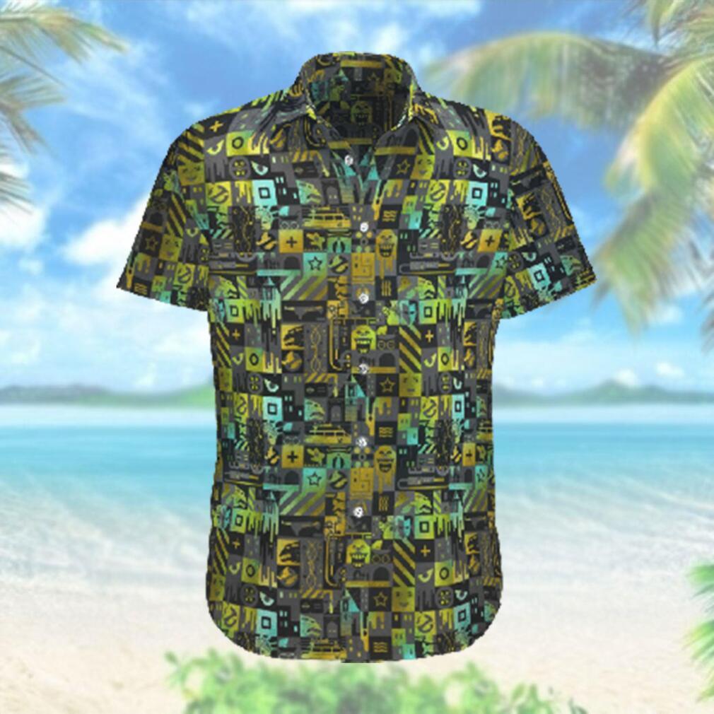 Ghostbusters Comedy Film Hawaiian Hawaiian Shirt