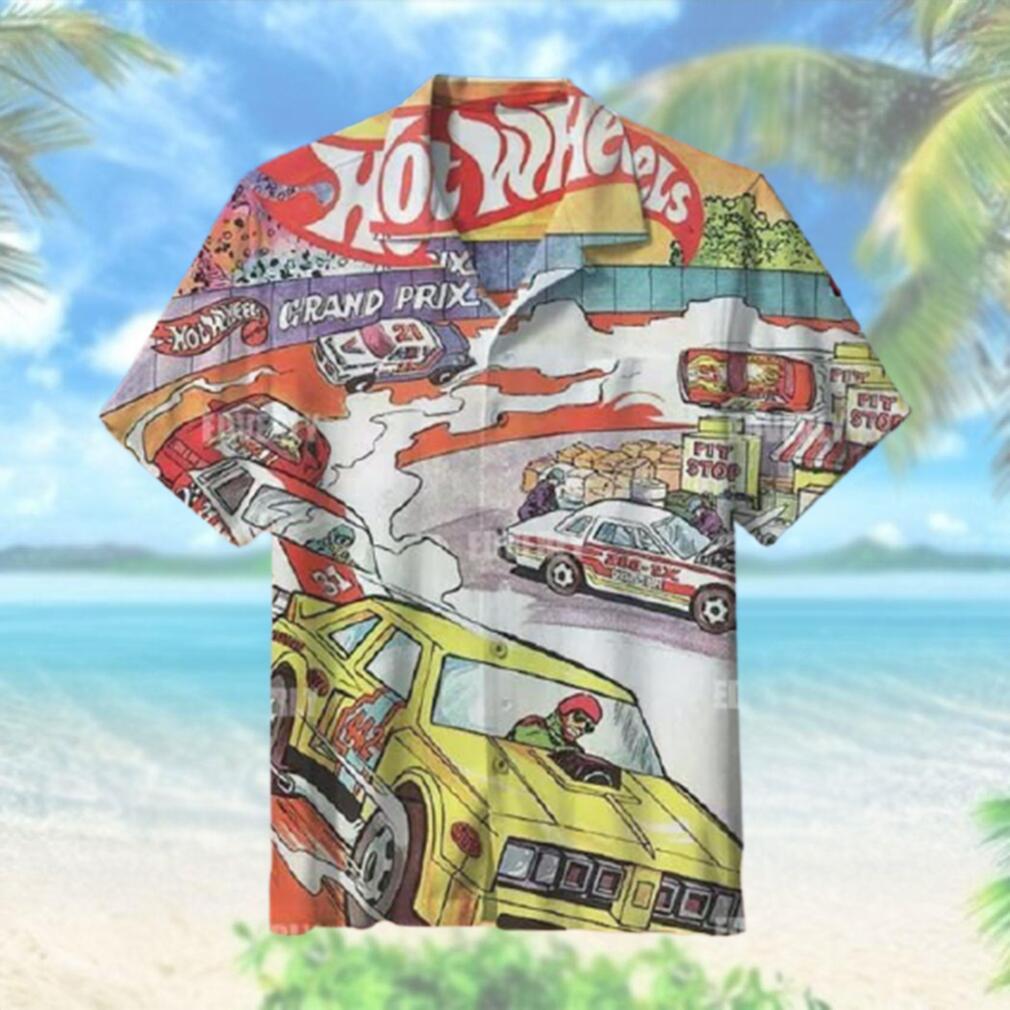Hot wheels Hot Wheels Grand Prix Hawaiian Shirt T Hawaiian Shirt