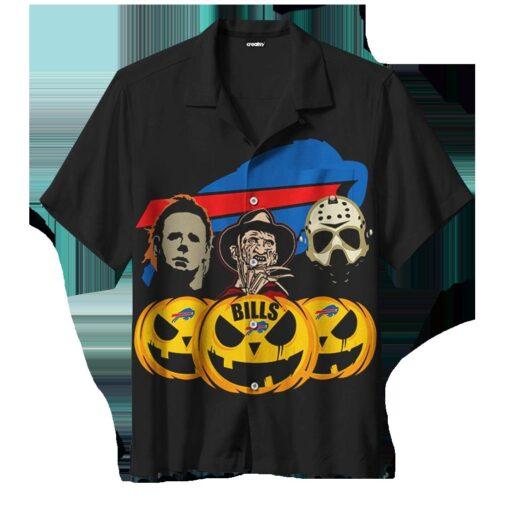Halloween Buffalo Bills Hawaiian Shirts