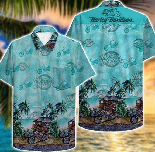 Harley Davidson Hawaii Hawaiian Shirt Fashion Tourism For Men Shirts