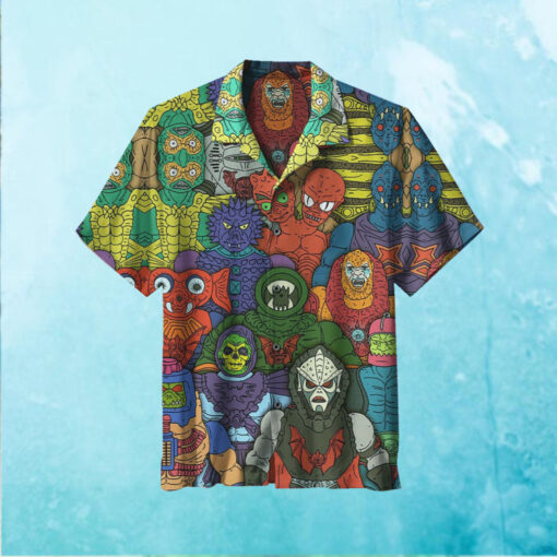 He Man and the Masters of the Universe Hawaiian Shirt