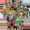Hippie Pop Culture Art Hawaiian Shirt