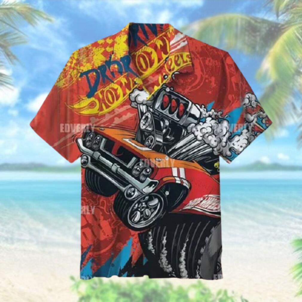 Hot wheels Red Rodger Dodger Hawaiian Shirt T Hawaiian Shirt