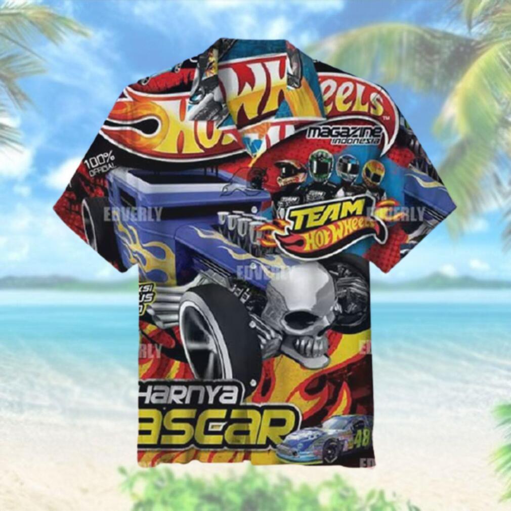 Hot wheels Team Magazine Indonesia Hawaiian Shirt T Hawaiian Shirt