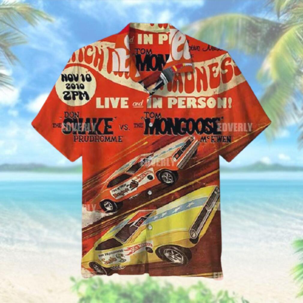 Hot wheels snake and mongoose Hawaiian Shirt T Hawaiian Shirt