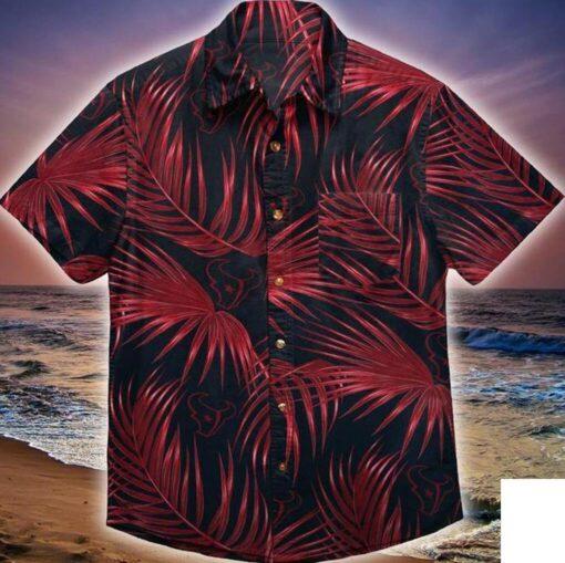 Houston Texans Hawaii Hawaiian Shirt Fashion Tourism For Men Shirt