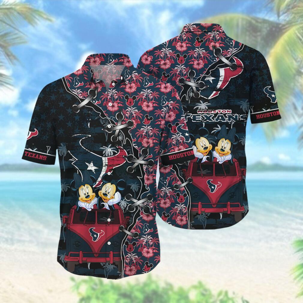 Houston Texans NFL Hawaii Shirt Style Hot Trending 3D Hawaiian Shirt