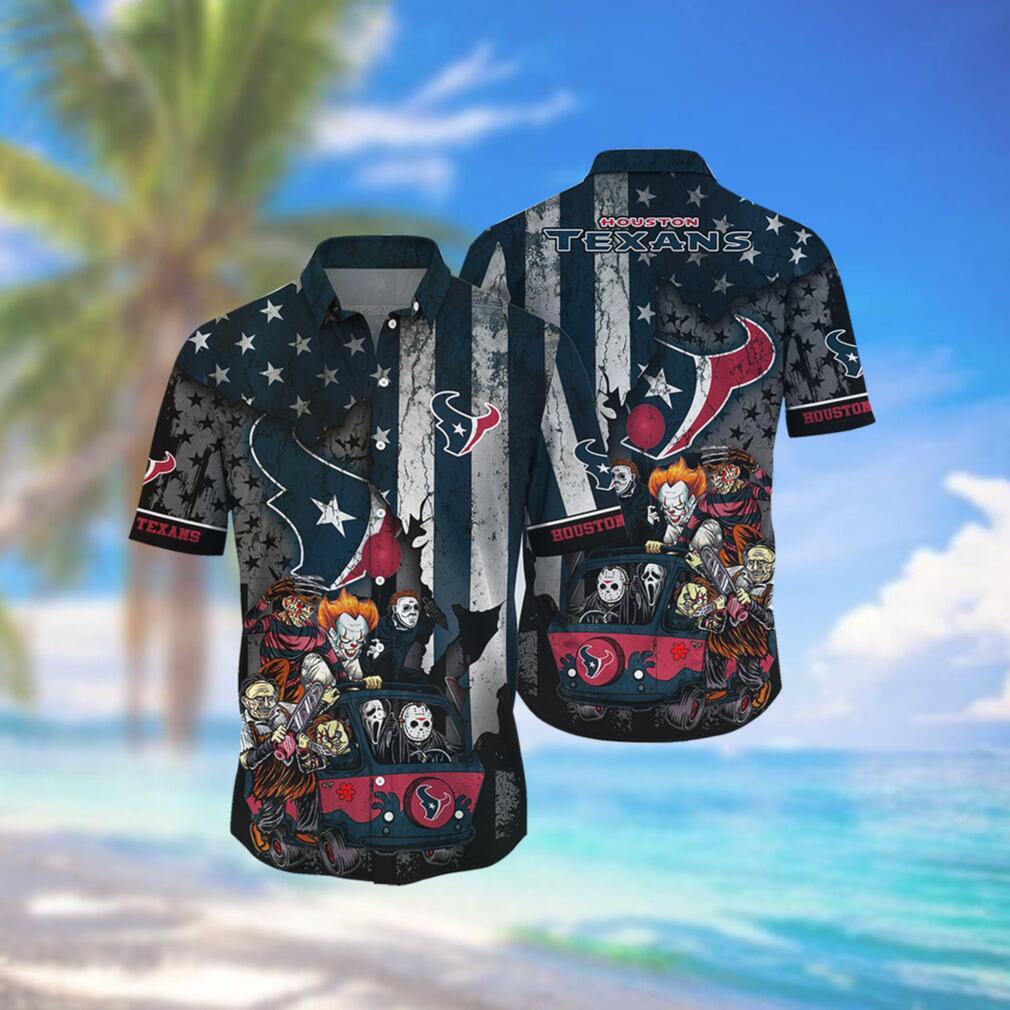 Houston Texans NFL Hawaiian Shirts Style Hot Trending