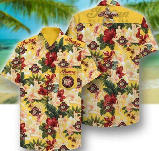 Indian Girl Hawaii Hawaiian Shirt Fashion Tourism For Men, Women Shirt