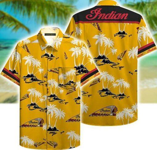 Indian Motorcycle Hawaii Hawaiian Shirt Fashion Tourism For Men, Women Shirt