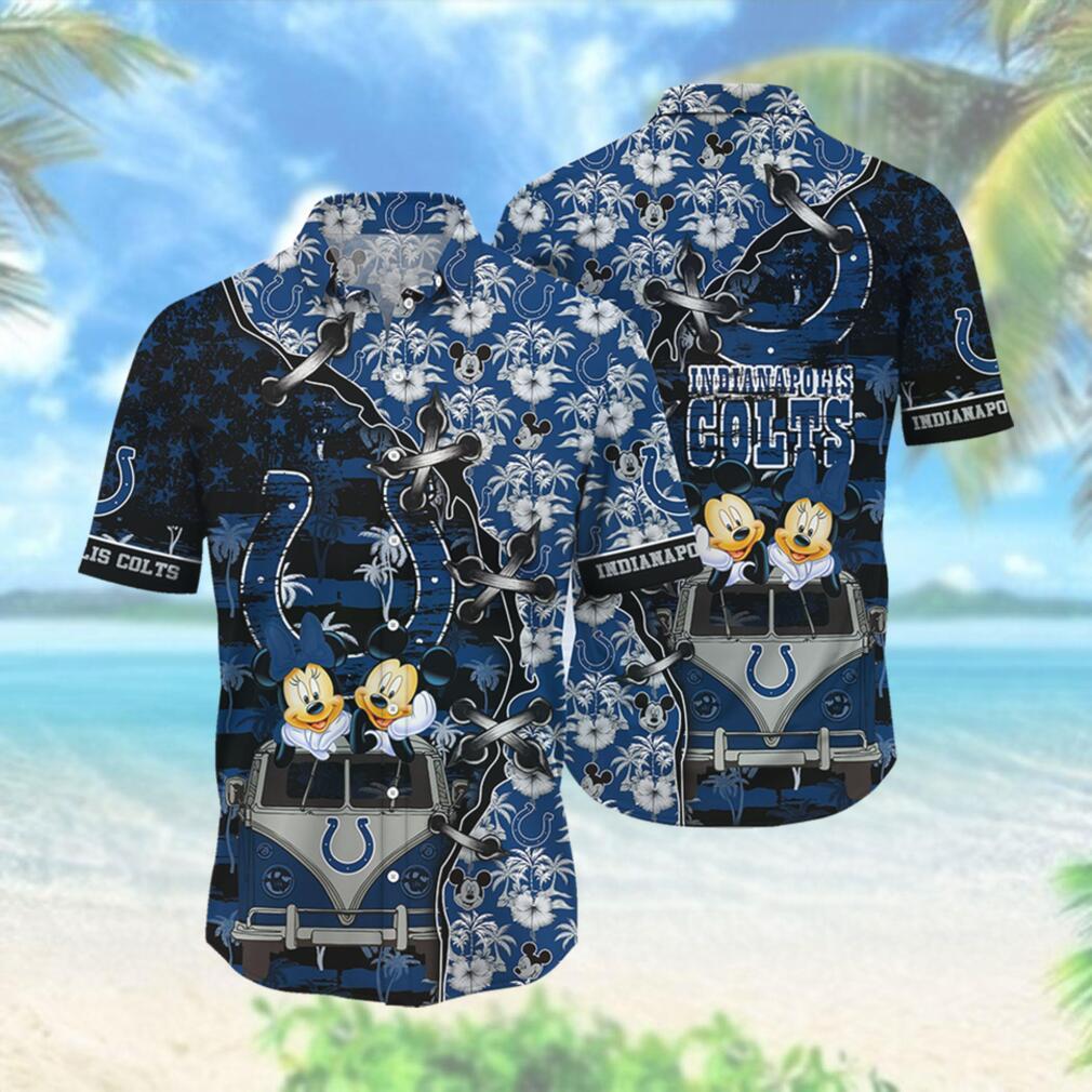 Indianapolis Colts NFL Hawaii Shirt Style Hot Trending 3D Hawaiian Shirt