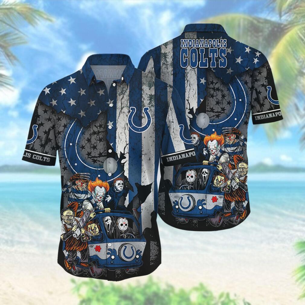 Indianapolis Colts NFL Hawaiian Shirts Style Hot Trending