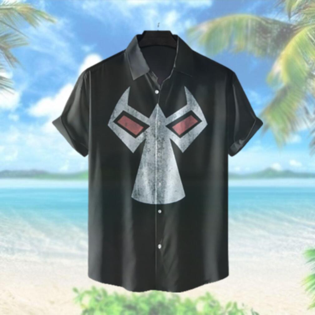 Bane Mask Hawaiian Shirt Batman Hawaiian Shirts