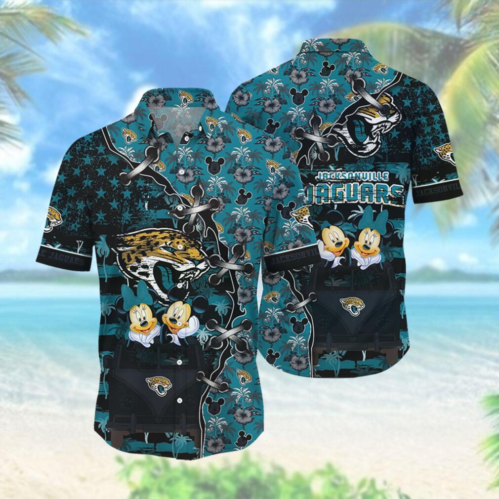 Jacksonville Jaguars NFL Hawaii Shirt Style Hot Trending 3D Hawaiian Shirt