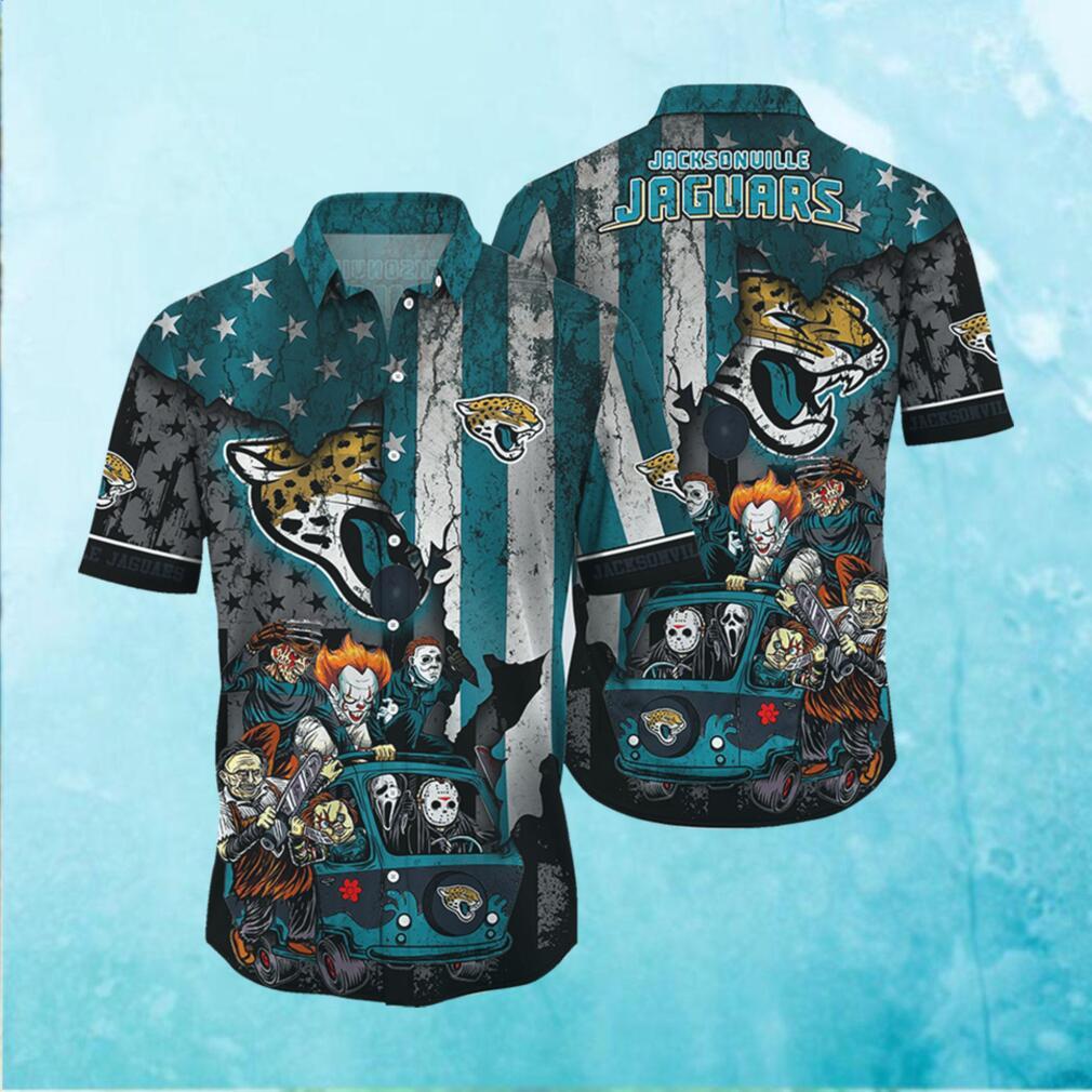 Jacksonville Jaguars NFL Hawaiian Shirts Style Hot Trending