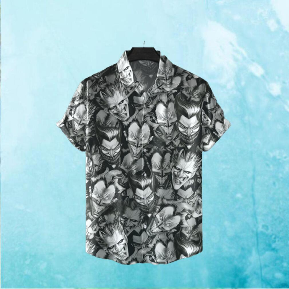 Joker faces Hawaiian Shirt Batman Hawaiian Shirts