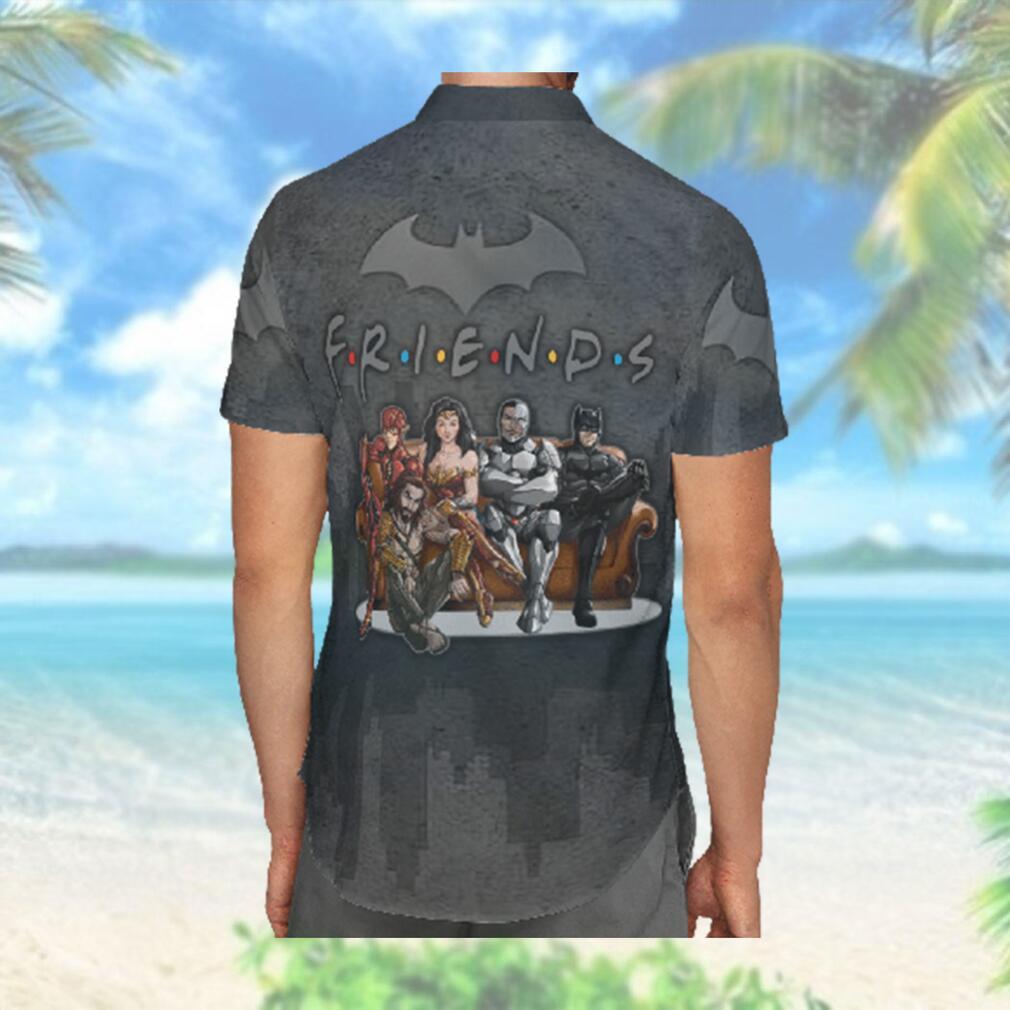 Justice League Friend Hawaiian Hawaiian Shirt