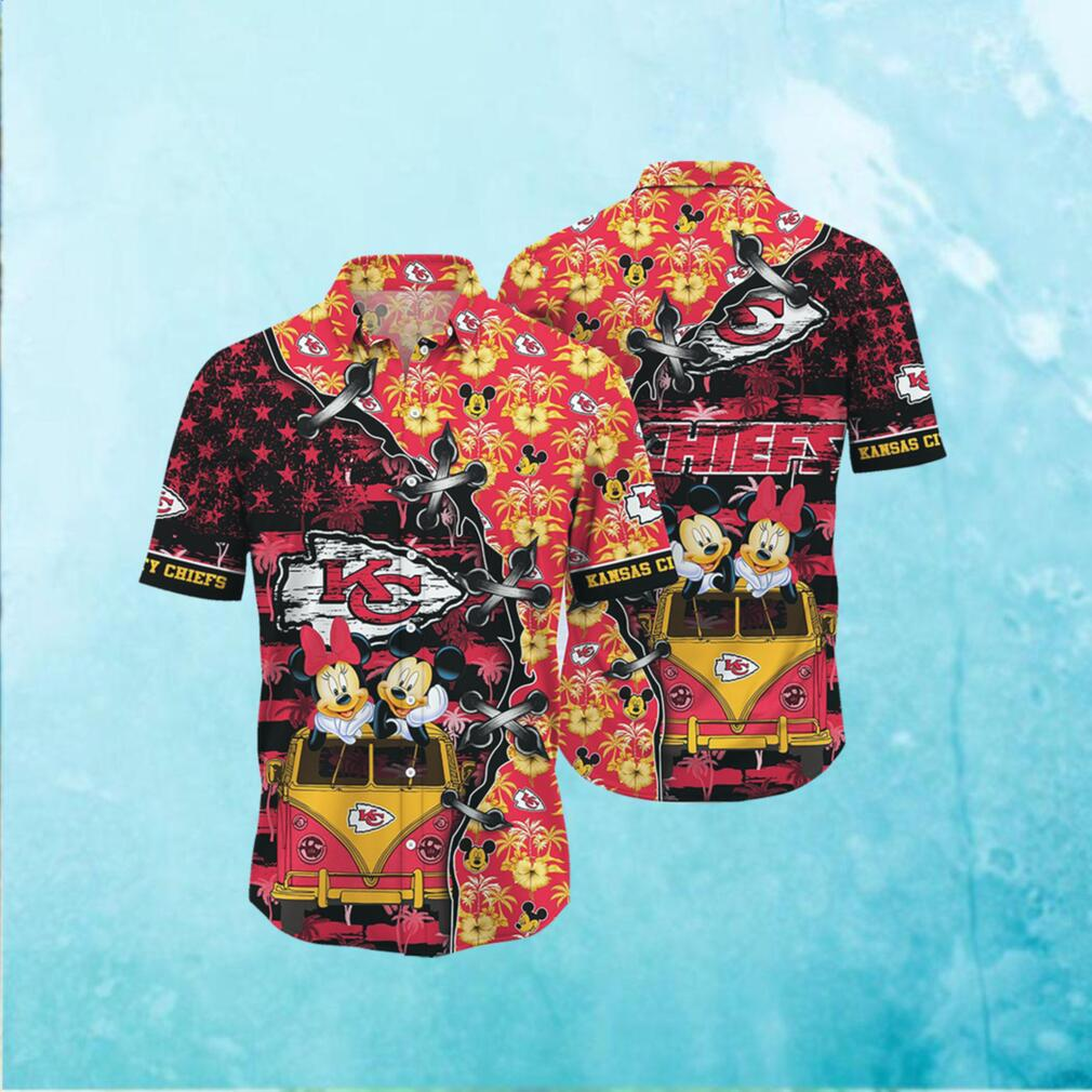 Kansas City Chiefs NFL Hawaii Shirt Style Hot Trending 3D Hawaiian Shirt