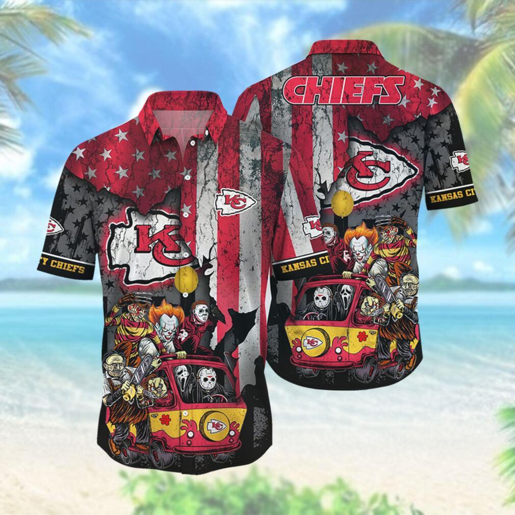 Kansas City Chiefs NFL Hawaiian Shirts Style Hot Trending