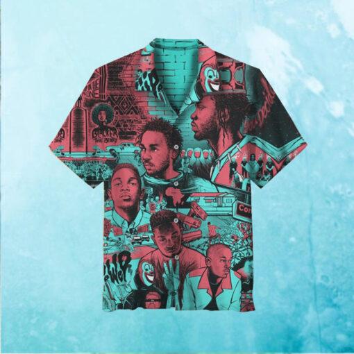 Kendrick Lamar Hawaiian Shirt