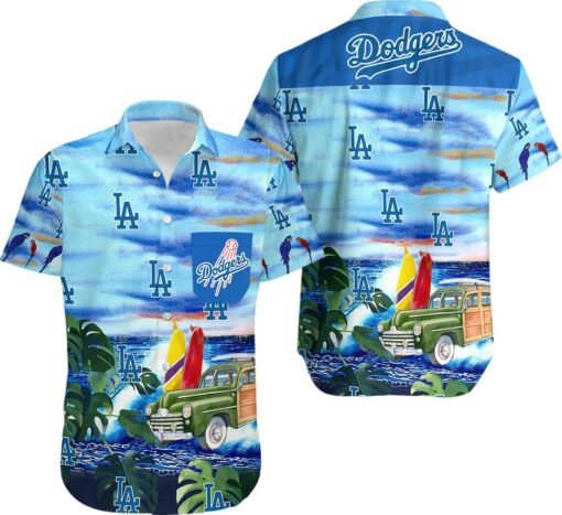 La Dodgers Hawaii Hawaiian Shirt Fashion Tourism For Men Shirt