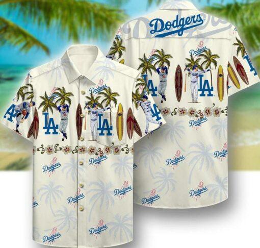 La Dodgers Hawaii Hawaiian Shirt Fashion Tourism For Men, Women Shirts