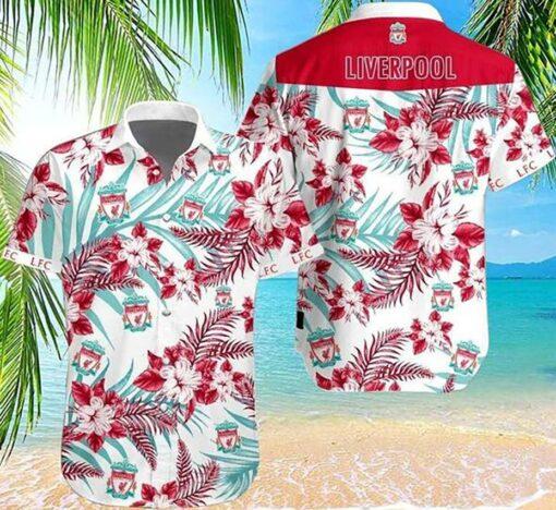 Liverpool Hawaii Hawaiian Shirt Fashion Tourism For Men, Women Shirt