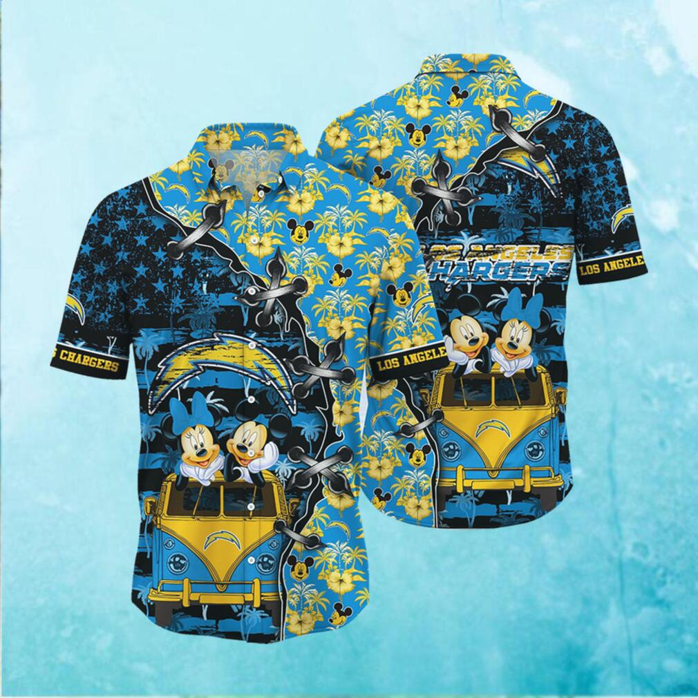 Los Angeles Chargers NFL Hawaii Shirt Style Hot Trending 3D Hawaiian Shirt