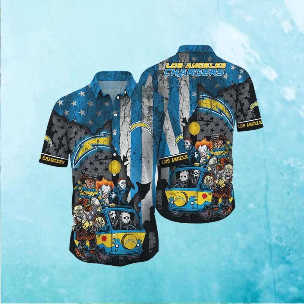 Los Angeles Chargers NFL Hawaiian Shirts Style Hot Trending