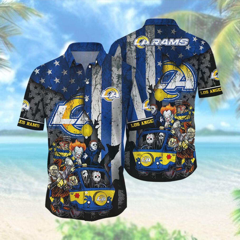 Los Angeles Rams NFL Hawaiian Shirts Style Hot Trending