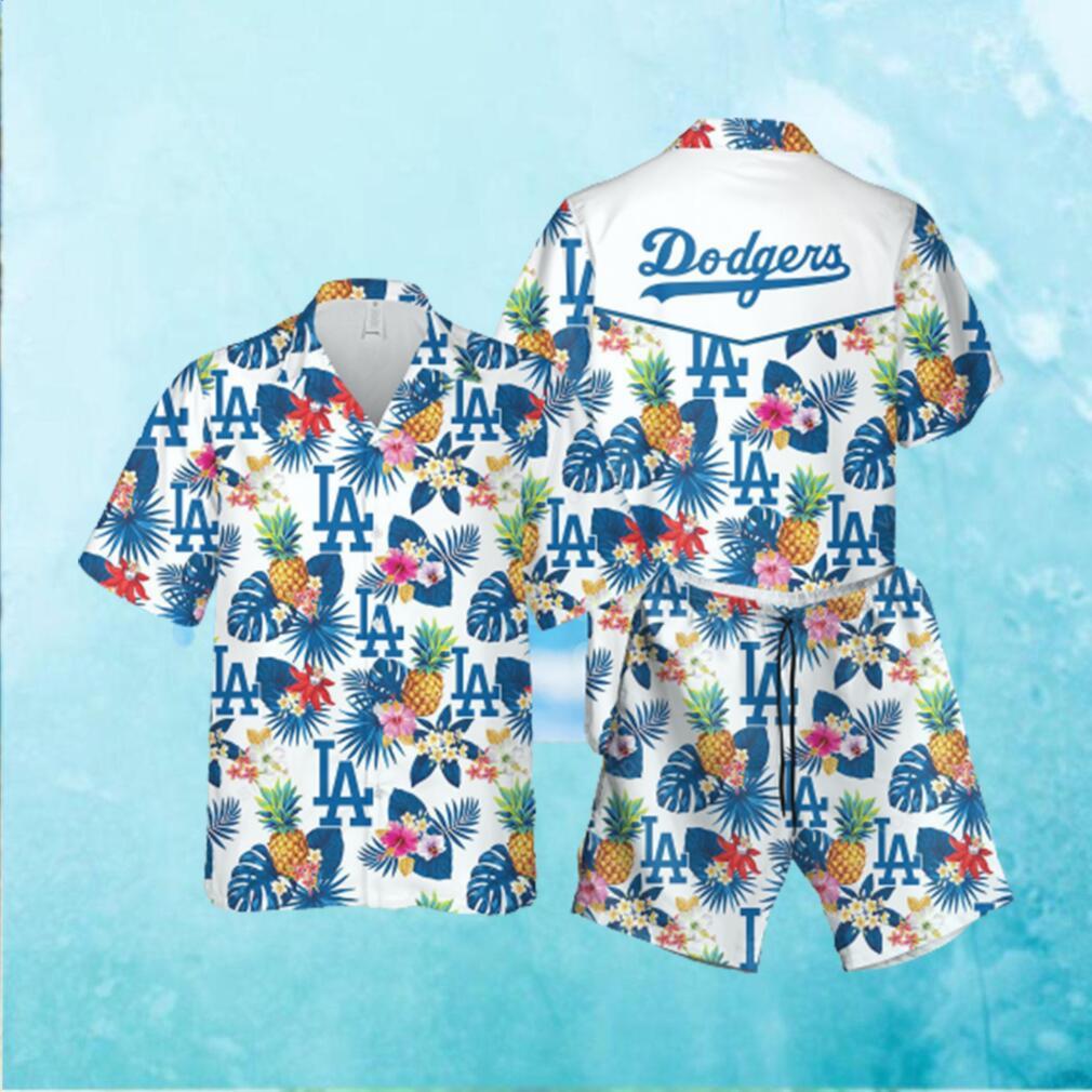 MLB LA Dodgers Hawaiian Hawaiian Shirt