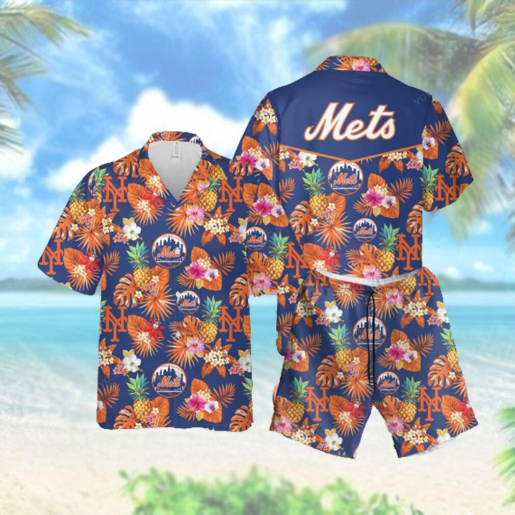 MLB NY Mets Hawaiian Hawaiian Shirt