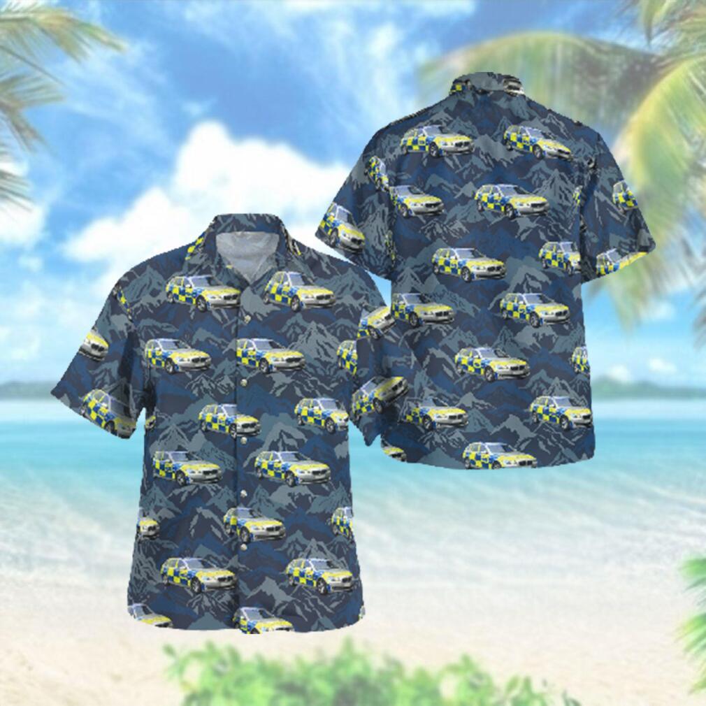 Metropolitan Police Area Car Hawaiian Hawaiian Shirt