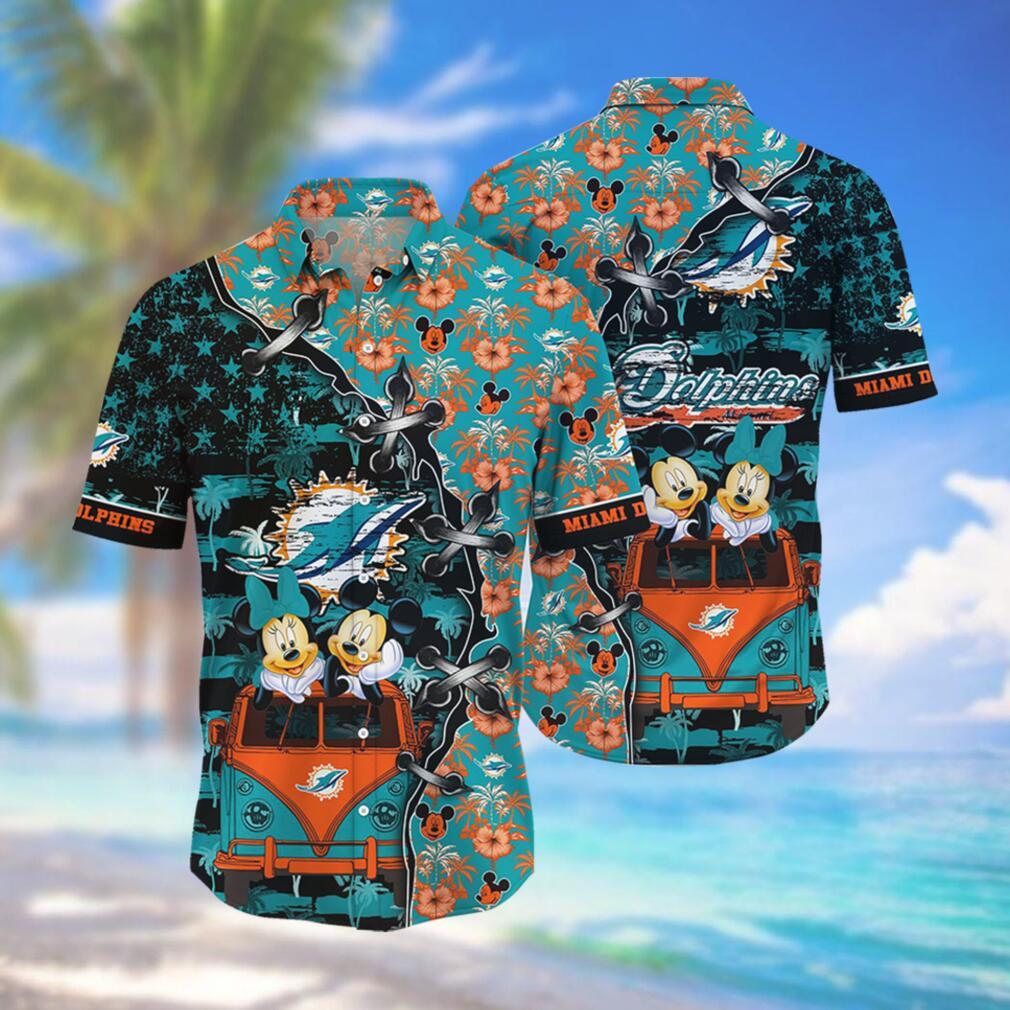 Miami Dolphins NFL Hawaii Shirt Style Hot Trending 3D Hawaiian Shirt
